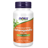 Ashwagandha Extract 450mg, 90vcaps.Now FOODS